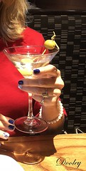 Tini-time (Edie54) Tags: martini lady birthday pretty beautiful restaurant celebrate table gin vodka olives olive nails hair red pearls fun celebration toast drink beverage yummy delicious