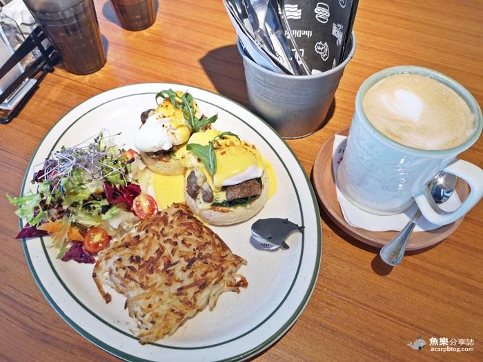 【台北信義】theDiner 樂子早午餐|信義旗艦店|經典班尼迪克蛋早午餐 @魚樂分享誌