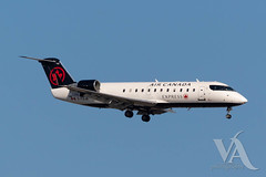Air Canada Express CRJ-200 (C-FDJA)-2.jpg (Vince Amato Photography) Tags: crj200 bombardier trudeauinternationalairport cfdja commercialairliner aircanadaexpress acax cr2 crj2 cyul canada montreal quebec yul
