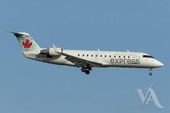 Air Canada Express CRJ-200 (C-FZJA).jpg (Vince Amato Photography) Tags: crj200 bombardier trudeauinternationalairport aircanadaexpress cfzja commercialairliner acax cr2 crj2 cyul canada montreal quebec yul