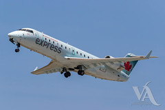 Air Canada Express CRJ-200 (C-GMJA).jpg (Vince Amato Photography) Tags: crj200 bombardier trudeauinternationalairport aircanadaexpress commercialairliner cgmja acax cr2 crj2 cyul canada montreal quebec yul