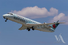 Air Canada Express CRJ-200 (C-GQJA).jpg (Vince Amato Photography) Tags: crj200 bombardier trudeauinternationalairport cgqja commercialairliner aircanadaexpress acax cr2 crj2 cyul canada montreal quebec yul