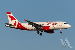 Air Canada Rouge A19-100 (C-GITR).jpg (Vince Amato Photography) Tags: commercialairliner trudeauinternationalairport cgitr airbus a319100 aircanadarouge 319 a319 cyul canada montreal quebec rou rv yul