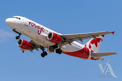 Air Canada Rouge A319-100 (C-FYKW).jpg (Vince Amato Photography) Tags: cfykw trudeauinternationalairport commercialairliner airbus a319100 aircanadarouge 319 a319 cyul canada montreal quebec rou rv yul