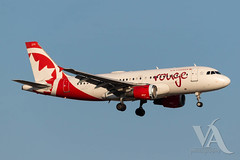Air Canada Rouge A319-100 (C-GBHZ).jpg (Vince Amato Photography) Tags: cgbhz trudeauinternationalairport commercialairliner airbus a319100 aircanadarouge 319 a319 cyul canada montreal quebec rou rv yul
