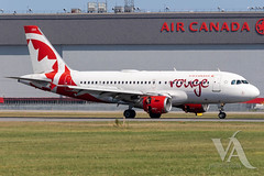 Air Canada Rouge A319-100 (C-GBIN).jpg (Vince Amato Photography) Tags: cgbin trudeauinternationalairport commercialairliner airbus a319100 aircanadarouge 319 a319 cyul canada montreal quebec rou rv yul
