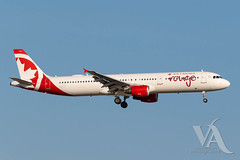 Air Canada Rouge A321-200 (C-GHPD).jpg (Vince Amato Photography) Tags: cghpd a321200 trudeauinternationalairport commercialairliner airbus aircanadarouge 321 a321 cyul canada montreal quebec rou rv yul