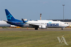 Air Transat B737-800 (C-GTQB).jpg (Vince Amato Photography) Tags: boeing trudeauinternationalairport commercialairliner b737800 cgtqb airtransat 738 b738 cyul canada montreal quebec ts tsc yul
