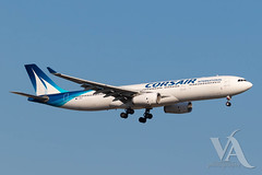 Corsair A330-300 (F-HSKY).jpg (Vince Amato Photography) Tags: fhsky trudeauinternationalairport corsair airbus commercialairliner a330300 333 a333 crl cyul canada montreal quebec ss yul