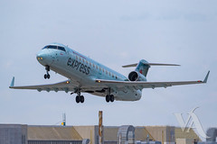 Air Canada Express CRJ-200 (C-GUJA).jpg (Vince Amato Photography) Tags: cguja bombardier trudeauinternationalairport aircanadaexpress commercialairliner crj200 acax cr2 crj2 cyul canada montreal quebec yul