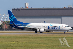 Air Transat B737-800 (C-GTQG).jpg (Vince Amato Photography) Tags: airtransat trudeauinternationalairport commercialairliner b737800 cgtqg boeing 738 b738 cyul canada montreal quebec ts tsc yul