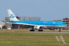 KLM A330-200 (PH-AOE).jpg (Vince Amato Photography) Tags: klm phaoe trudeauinternationalairport commercialairliner airbus a330200 332 a332 cyul canada kl montreal quebec yul