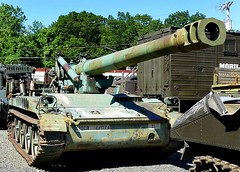 "M110A1 8 Inch Self Propelled Howitzer 1 • <a style=""font-size:0.8em;"" href=""http://www.flickr.com/photos/81723459@N04/48469200676/"" target=""_blank"">View on Flickr</a>"
