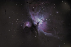 Zoom into the Orion Nebula (wong_yewhoe) Tags: canon 60d deepsky deepspace orion nebula m42 celestron c8 refractor telescope nasa space stars singapore asia