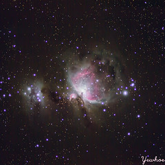 Orion Nebula Widefield (wong_yewhoe) Tags: canon 60d deepsky deepspace stars malaysia tioman mersin williamoptics z71 ioptron nasa apod dslr orion nebula m42 runningman