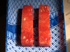 Melon Fingers (Tony Worrall) Tags: images photos photograff things uk england food foodie grub eat eaten taste tasty cook cooked iatethis foodporn foodpictures picturesoffood dish dishes menu plate plated made ingrediants nice flavour foodophile x yummy make tasted meal nutritional freshtaste foodstuff cuisine nourishment nutriments provisions ration refreshment store sustenance fare foodstuffs meals snacks bites chow cookery diet eatable fodder ilobsterit instagram forsale sell buy cost stock melon fingers juicy red fruit lines shapes