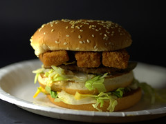 Big Mac Fish Burger (Tony Worrall) Tags: images photos photograff things uk england food foodie grub eat eaten taste tasty cook cooked iatethis foodporn foodpictures picturesoffood dish dishes menu plate plated made ingrediants nice flavour foodophile x yummy make tasted meal nutritional freshtaste foodstuff cuisine nourishment nutriments provisions ration refreshment store sustenance fare foodstuffs meals snacks bites chow cookery diet eatable fodder ilobsterit instagram forsale sell buy cost stock big mac fish burger bun bread bigmac