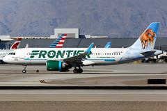 Frontier Airlines | Airbus A320-200N | N343FR | Las Vegas McCarran (Dennis HKG) Tags: aircraft airplane airport plane planespotting canon 7d 100400 lasvegas mccarran klas las frontier frontierairlines fft f9 airbus a320 airbusa320 sharklets n343fr