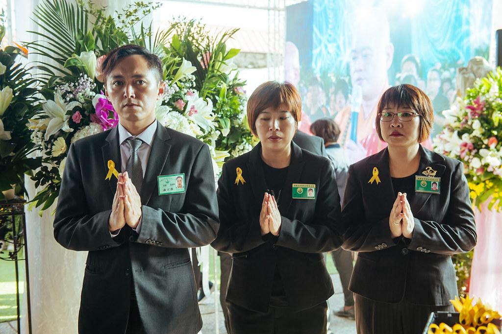 《喪禮攝影》新北市立殯儀館 / 景福廳 / 陳奠