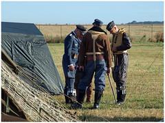 REENACTORS (Aerofossile2012) Tags: me109 buchon ww2 wwii luftwaffe avion aircraft aviation airshow meeting airlegend2018 melun villaroche reenactors reconstituants uniforme uniform