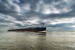 Westerschelde (Omroep Zeeland) Tags: kanaal door zuid beveland wolkenlucht westerschelde binnenvaart binnenvaartschip scheepvaart