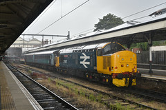 37407 - Norwich - 2P24 (richa20002) Tags: drs direct rail services intercity ic br large logo class 37 tractor thrash abellio greater anglia aga ga hellfire clag branch line norwich great yarmouth lowestoft wherry lines lhcs loco hauled service short set