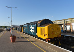 37407 - Great Yarmouth - 2P34 (richa20002) Tags: drs direct rail services intercity ic br large logo class 37 tractor thrash abellio greater anglia aga ga hellfire clag branch line norwich great yarmouth lowestoft wherry lines lhcs loco hauled service short set