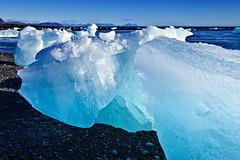 Jökulsárlón Black Beach Glacial Lagoon, Iceland (klauslang99) Tags: klauslang jökulsárlónblackbeachglaciallagoon iceland ice nature landscape