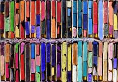 Box of Pastel Sticks (WilliamND4) Tags: pastel sticks art colors colorful nikon d810 50mm