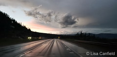 July 14, 2019 - Evening Storms on I-70 near Vail. (Lisa Canfield)