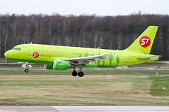 VP-BTN (PlanePixNase) Tags: aircraft airport planespotting haj eddv hannover langenhagen s7 sibir airbus 319 a319
