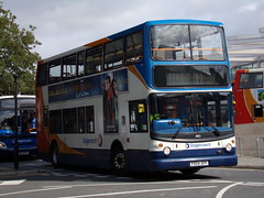 Stagecoach TransBus Trident (TransBus ALX400) 18152 PX04 DPF (Alex S. Transport Photography) Tags: bus outdoor road vehicle stagecoach stagecoachmidlandred stagecoachmidlands alx400 alexanderalx400 dennistrident trident transbustrident transbusalx400 route1 18152 px04dpf