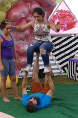High human chair (wwimble) Tags: acroyoga independentsday idx acrohio spotter geodesicdome columbuscollegeofartanddesign ccad 2017