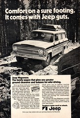 1972 Jeep Wagoneer 4WD American Motors AMC USA Original Magazine Advertisement (Darren Marlow) Tags: 1 2 7 9 19 72 1972 j jeep w wagoneer a american m motors c corporation amc car cool collectible collectors classic automobile v vehicle u s usa us united states america 70s