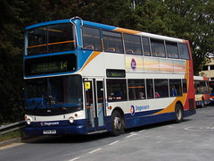 Stagecoach TransBus Trident (TransBus ALX400) 18155 PX04 DPU (Alex S. Transport Photography) Tags: bus outdoor road vehicle stagecoach stagecoachmidlandred stagecoachmidlands alx400 alexanderalx400 dennistrident trident transbustrident transbusalx400 route14 18155 px04dpu