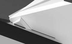Olympus (Jim Keaton - Structured Art) Tags: architecture artdigital architectural blackandwhite building contemporary concept computerart digitalart digital florida gardnerkeaton geometric geometricshapes hotelart illustration jimkeatonsarasota keaton lobbyart landscape modern officeart srq urban vectorart