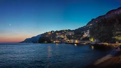 Brela at Night (zimoch84) Tags: brela 20 panasonic20mmf17 night midnight croatia chorwacja panorama hdr