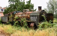 Epping & Ongar Railway Ongar Essex 4th August 2019 (loose_grip_99) Tags: ecclesbourne valley railway railroad rail locomotive engine steam finnish hr1 class pacific 1016 ongar essex preservation transportation gassteam seam transport trains railways august 2019 uksteam abandoned disused rust