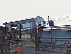Loco windows - Marlborough Flyer (boeckli) Tags: windows 008857 topazstudio2 fenster windowwednesdays window lokomotive locomotive train fahrzeug transport textures texturen texture textur outdoor outside blenheim newzealand marlboroughflyer ts2