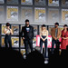 Kevin Feige, Scarlett Johansson, David Harbour, Florence Pugh, O. T. Fagbenle, Cate Shortland & Rachel Weisz