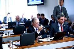 02-07-19 Senador Tasso Jereissati  participa da comissão de assuntos econômicos  no  Senado Federal  - Foto Gerdan Wesley  2