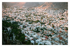 0068-0302-02 (jimbonzo079) Tags: pothia city town house building agios savvas monastery hill above kalymnos κάλυμνοσ island dodecanese 2018 land landscape aegean greece mountain canon ae1 fd 50mm f18 lens kodak portra 160 expired trip travel world europe analog film 35mm 135 color art view vintage old hellas ελλάσ ελλάδα summer vacation canonae1 fd50mmf18 portra160 newportra160 kodakportra160 newkodakportra160
