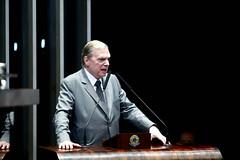 04-06-19 Senador Tasso Jereissati   faz discurso em sessão do Senado Federal - Foto Gerdan Wesley   (10)