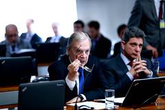 02-07-19 Senador Tasso Jereissati  participa da comissão de assuntos econômicos  no  Senado Federal  - Foto Gerdan Wesley  4