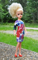 Miss Sindy doll and outfit 1985 (CooperSky) Tags: miss sindy 1985 dress one arm