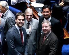 09-07-19  Eduardo Leite governador do RS em visita ao Senado Federal  - Foto Gerdan Wesley  (1)