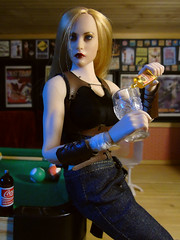 Dakota Jennings (Blondeactionman) Tags: bam hq agents of dakota jennings phicen doll photography ammo arms pub playscale one six scale