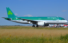 "EI-DEP, Airbus A320-214, c/n 2542, Aer Lingus, ""St Eugene / Eoghan"", CDG/LFPG 2019-07-06, onto Alpha-Loop. (alaindurandpatrick) Tags: airlines aerlingus ei ein shamrock jetliners airliners minibus airbus airbusa320 a320200 a320 airbusa320200 airbusa320214 a320214 eidep cn2542 airports aviationphotography cdg lfpg parisroissycdg"
