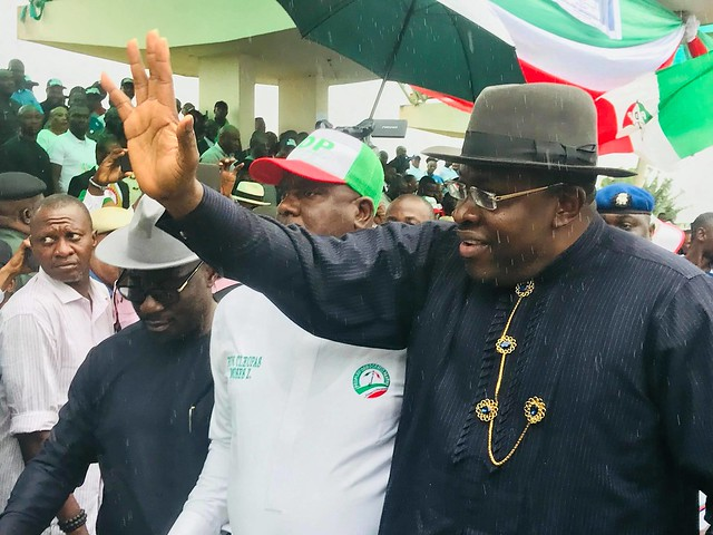 HSDickson - His Excellency at the Official PDP Candidates Flag Off Rally. 5th August 2019