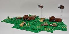 Droid Army on Naboo (Pierre MiniBricks) Tags: pierre minibricks lego star wars mini moc menace phantom droide army vultur naboo invasion